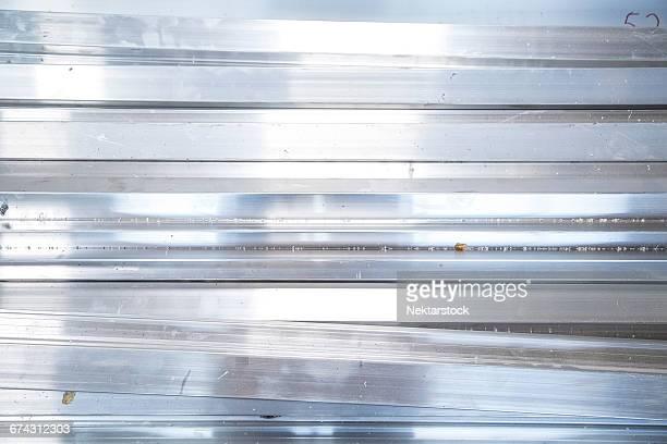 Full Frame Of Metal Object