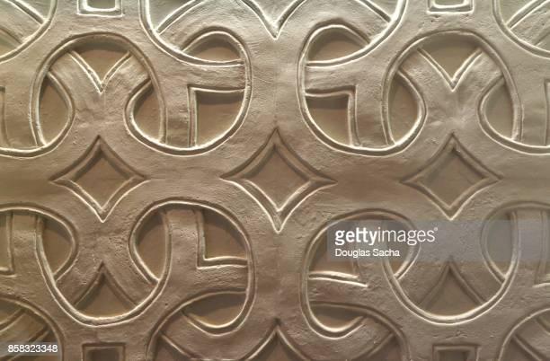 Full Frame of ornate design pattern