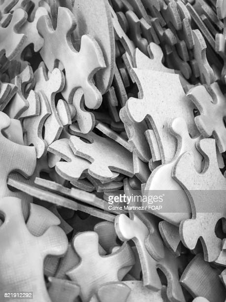 Full frame of puzzle