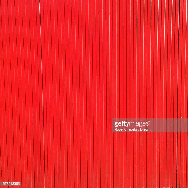 Full Frame Of Red Wall