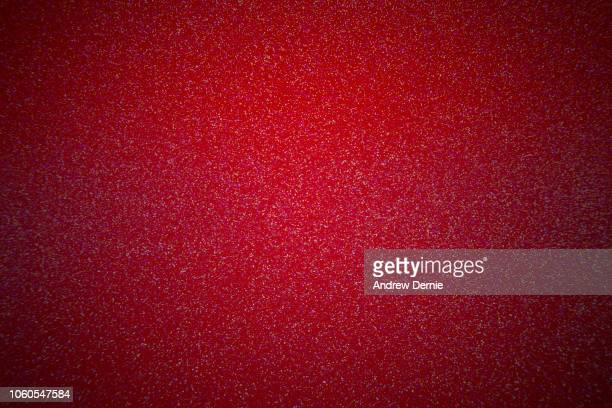 Full Frame of Shiny Red Glitter Pattern