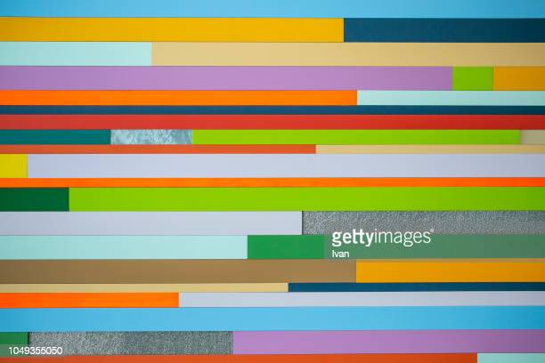 Full frame of texture, Colorful horizontal straight line