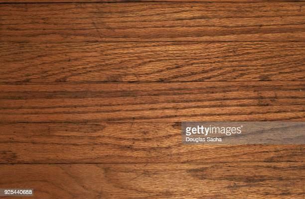 Full frame of wood boards with natural wood grain