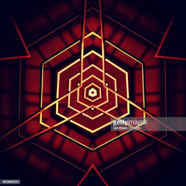 Full Frame Shot Of Abstract Geometric Background
