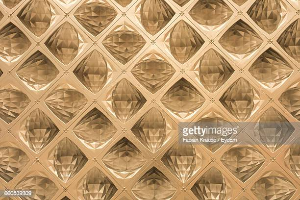 Full Frame Shot Of Abstract Glass Background