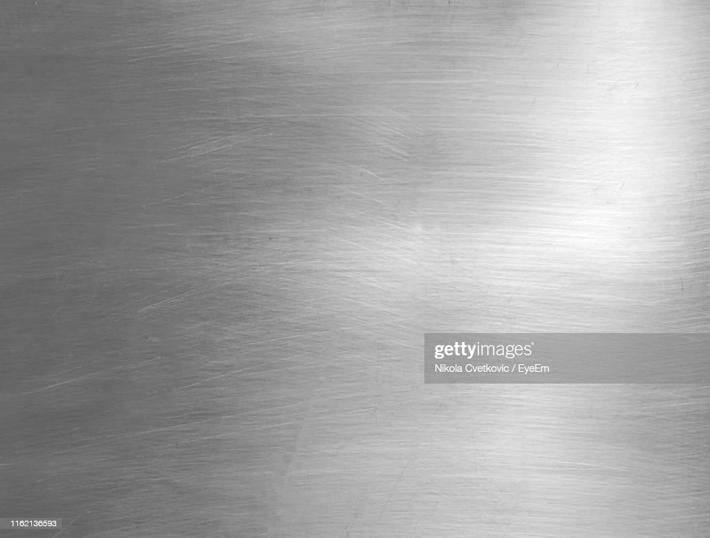 Full Frame Shot Of Abstract Patterned Metal : Stock Photo