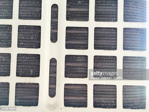 Full Frame Shot Of Air Conditioner Filter