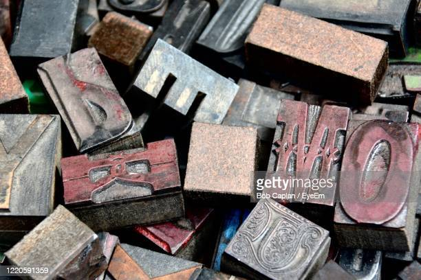 full frame shot of alphabet blocks - large group of objects stock pictures, royalty-free photos & images