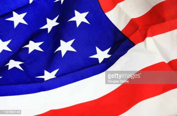 full frame shot of american flag - fourth of july background stock pictures, royalty-free photos & images