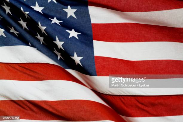 Full Frame Shot Of American Flag