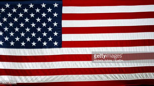 full frame shot of american flag - stars and stripes stock pictures, royalty-free photos & images