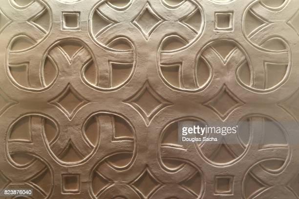 Full Frame Shot Of an ornate Wall