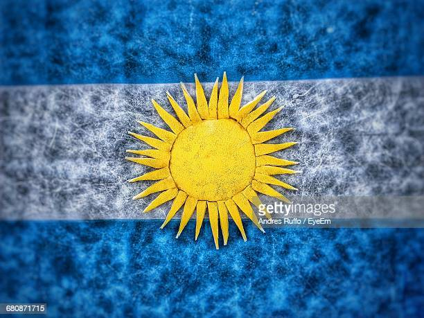 full frame shot of argentinian flag - andres ruffo stock photos and pictures