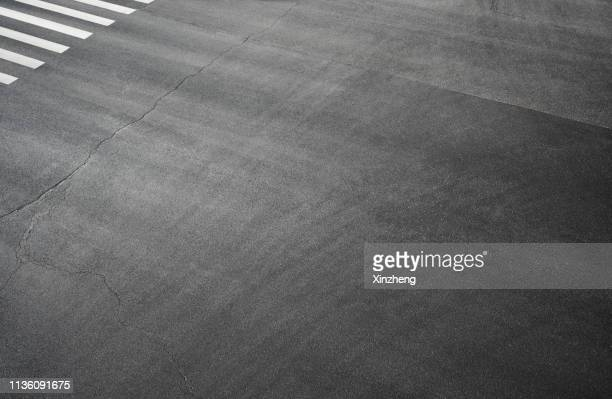 full frame shot of asphalt road - road stock pictures, royalty-free photos & images
