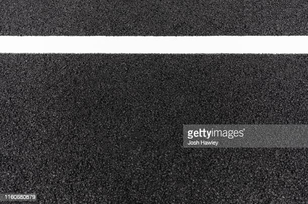 full frame shot of asphalt road - paved driveway stock pictures, royalty-free photos & images