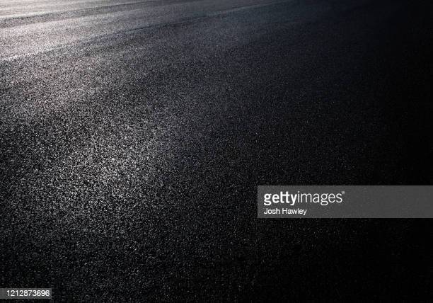 full frame shot of asphalt road - tarmac stock pictures, royalty-free photos & images