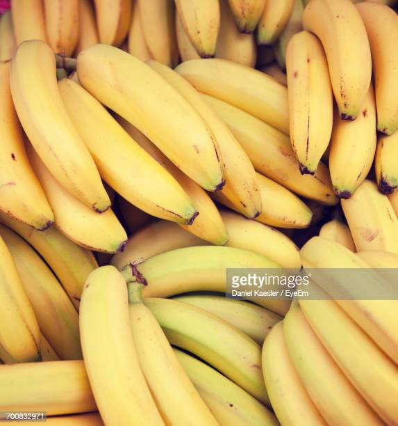 Full Frame Shot Of Bananas For Sale In Market