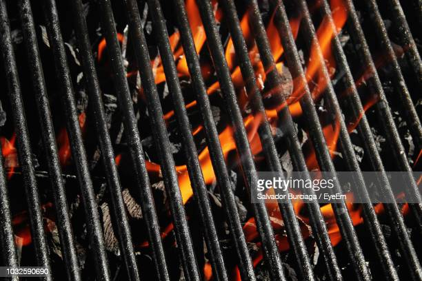 Full Frame Shot Of Barbecue Grill