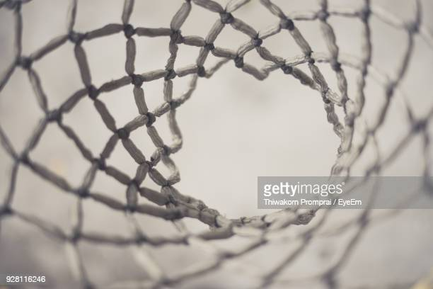 full frame shot of basket ball hoop - basketball hoop stock pictures, royalty-free photos & images