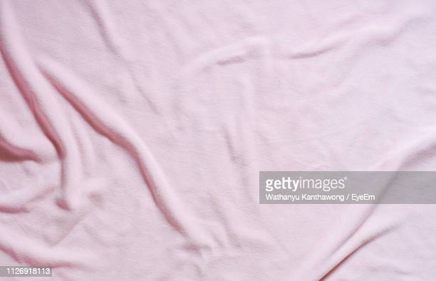 full frame shot of bed - sheet bedding stock pictures, royalty-free photos & images