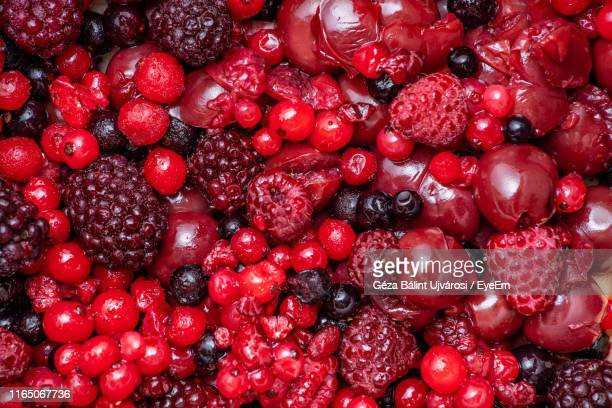 full frame shot of berries - berry stock pictures, royalty-free photos & images