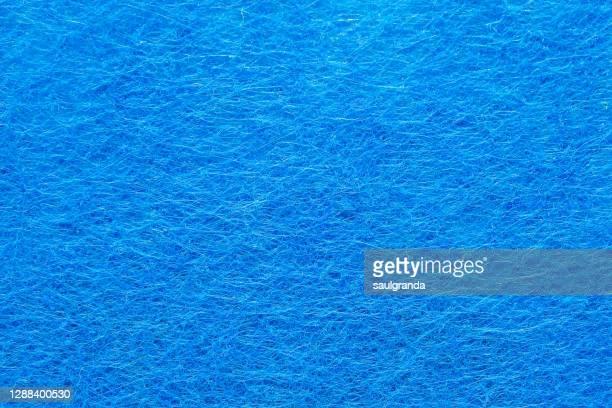 full frame shot of blue felt - felt textile stock pictures, royalty-free photos & images