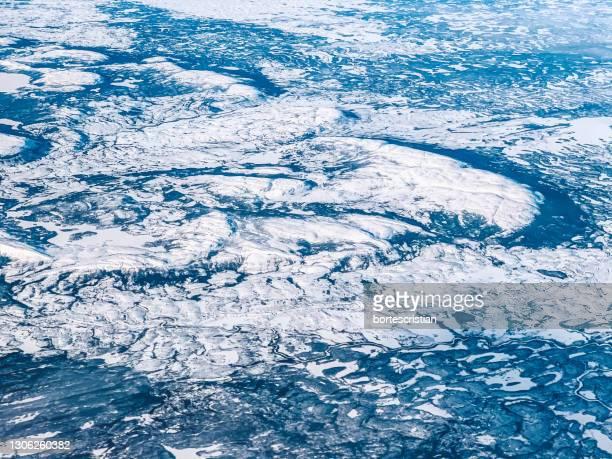 full frame shot of blue sea - bortes imagens e fotografias de stock