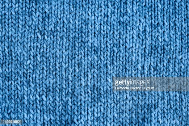 full frame shot of blue textile - wool stock pictures, royalty-free photos & images