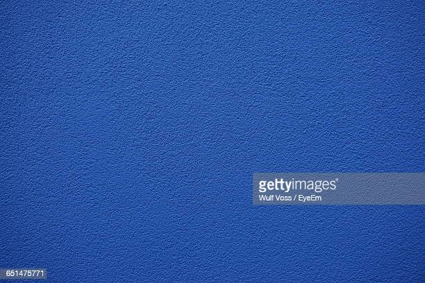 Full Frame Shot Of Blue Wall