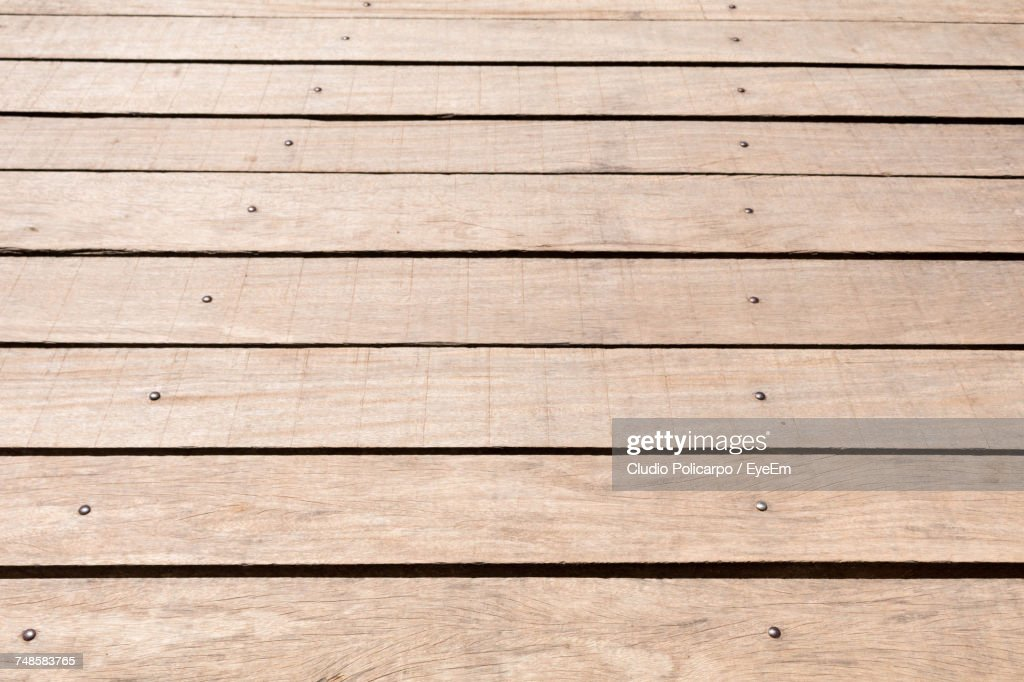 Full Frame Shot Of Boardwalk : Stock Photo