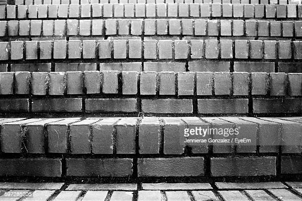 Full Frame Shot Of Brick Steps