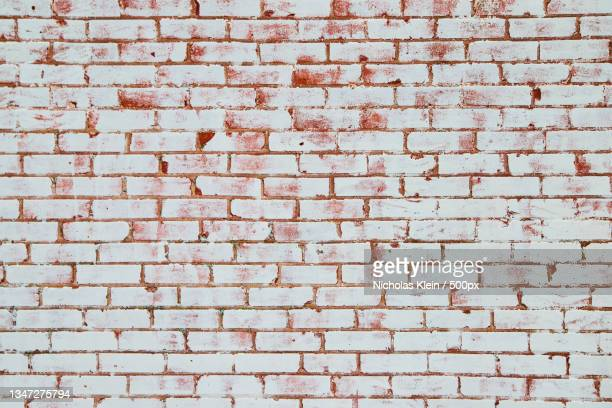 full frame shot of brick wall - klein stock pictures, royalty-free photos & images