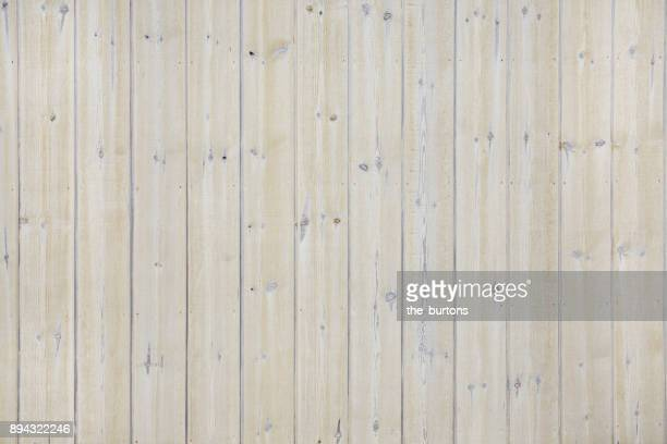 Full frame shot of bright wooden wall