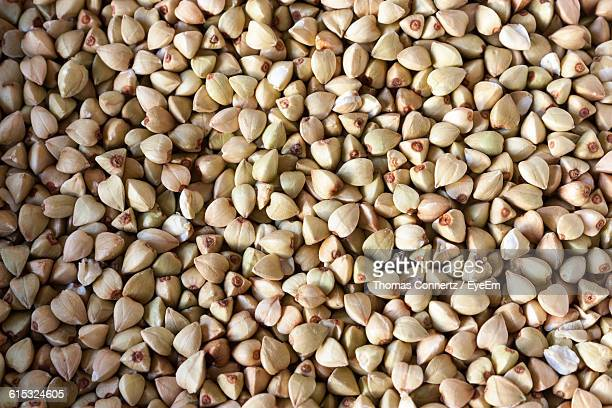 full frame shot of buckwheat grains in market - buckwheat stock pictures, royalty-free photos & images