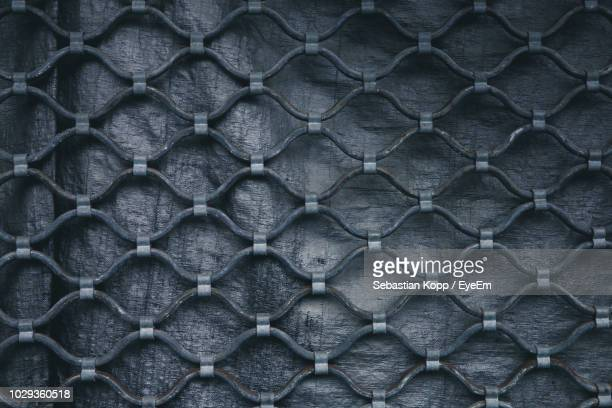 full frame shot of chainlink fence - sebastian grey stock pictures, royalty-free photos & images