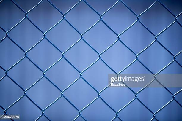 full frame shot of chainlink fence - chainlink fence stock pictures, royalty-free photos & images