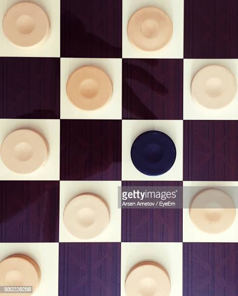 full frame shot of checkers - chequers stock photos and pictures