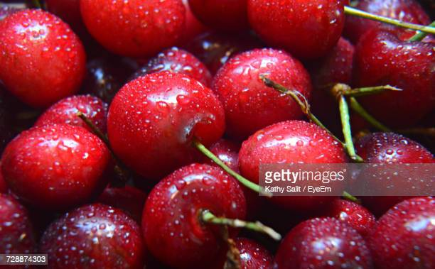 full frame shot of cherries - juicy stock photos and pictures