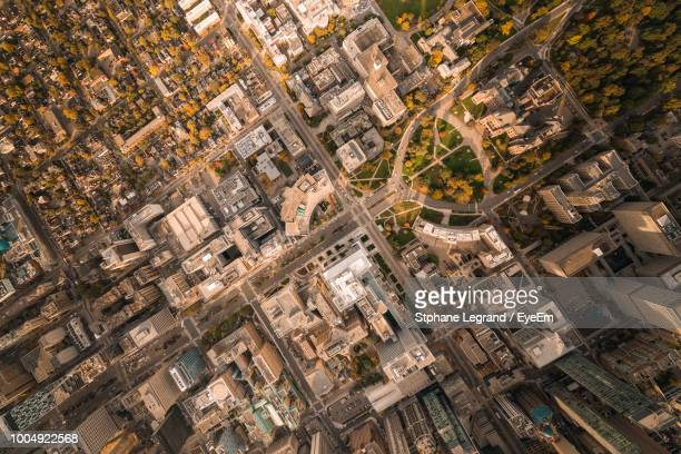 full frame shot of cityscape - toronto stock pictures, royalty-free photos & images