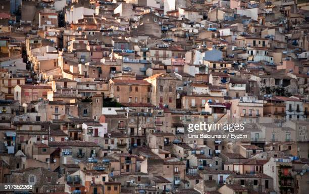 full frame shot of cityscape - modena stock pictures, royalty-free photos & images
