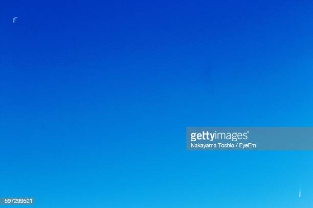 Full Frame Shot Of Clear Blue Sky