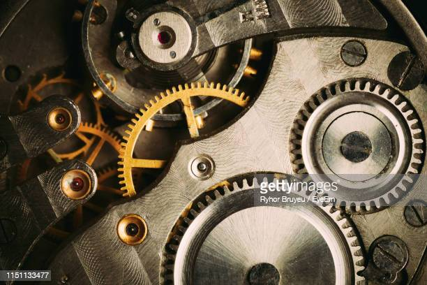 full frame shot of clock gears - cog stock pictures, royalty-free photos & images