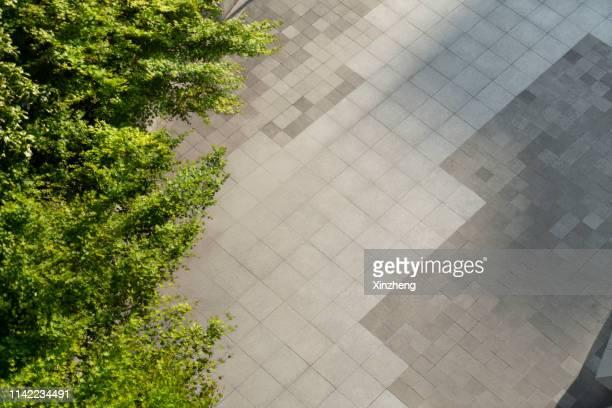 full frame shot of cobblestone paving - 歩道 ストックフォトと画像