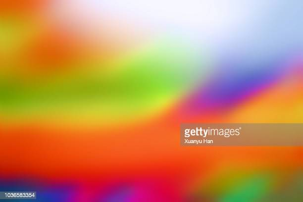 full frame shot of colorful abstract background - rainbow stock pictures, royalty-free photos & images