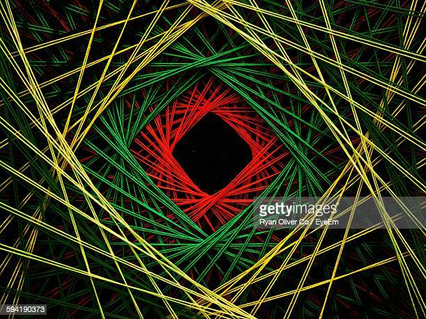 Full Frame Shot Of Colorful Abstract Lines