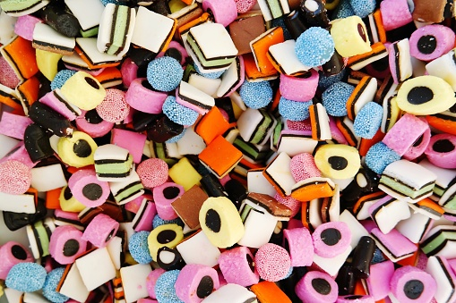 Full Frame Shot Of Colorful Candies For Sale - gettyimageskorea