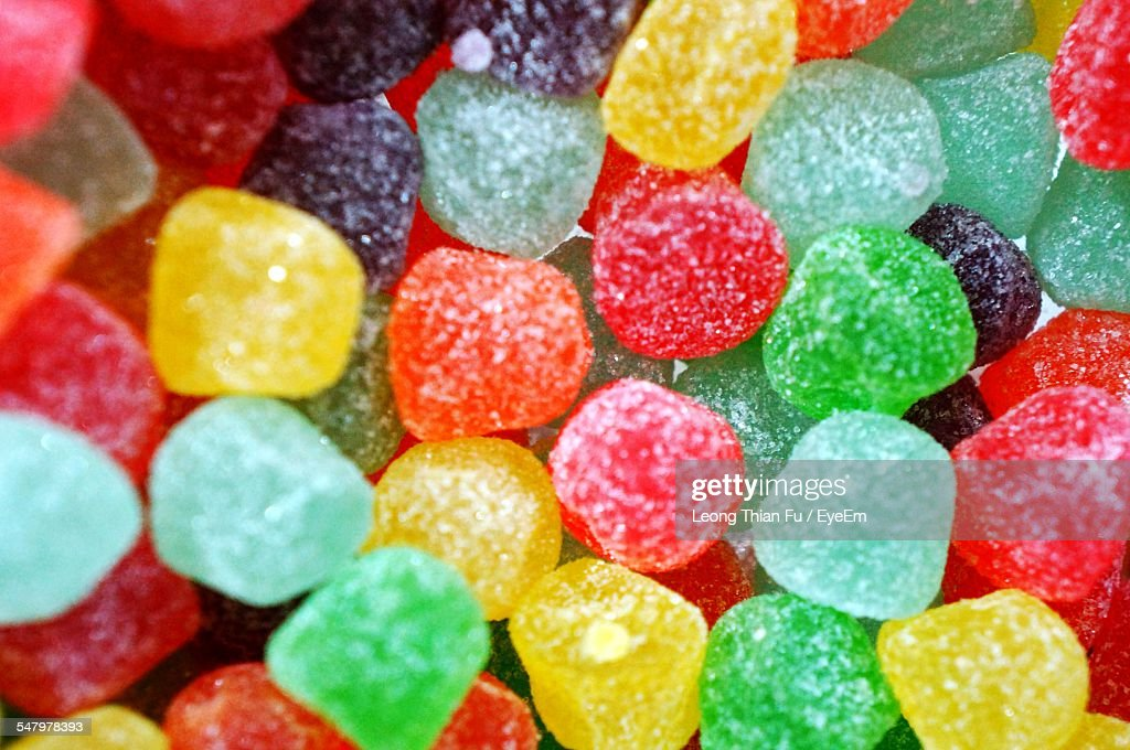 Full Frame Shot Of Colorful Candies : Foto stock