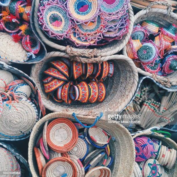 full frame shot of colorful diyas for sale at market stall - jeddah stock pictures, royalty-free photos & images