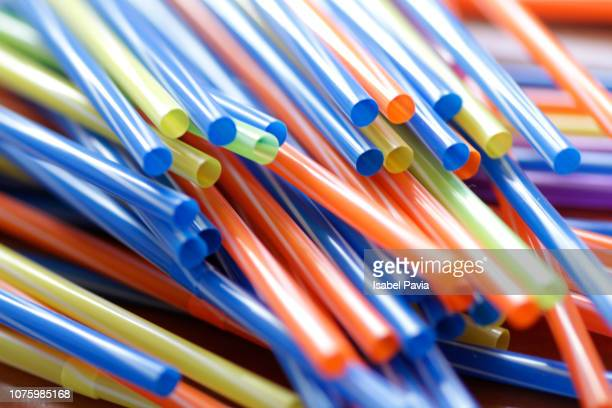 full frame shot of colorful drinking straws - drinking straw stock pictures, royalty-free photos & images