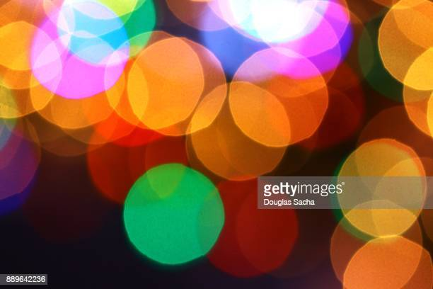 full frame shot of colorful glowing orbs - streaker stock pictures, royalty-free photos & images